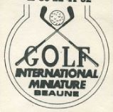 Minigolf Internationale miniature
