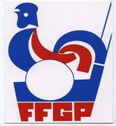 Logo de la Fédération Française de Golf sur Pistes de 1978 à 1987
